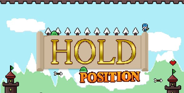 Hold position 3 - HTML5 game. Mobile adaptive, construct 2-3