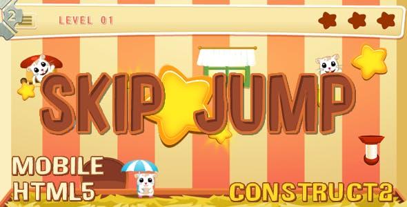 Skip Jump (C2 + C3 + HTML) Game!