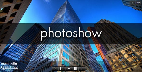 PhotoShow for WordPress - CodeCanyon Item for Sale