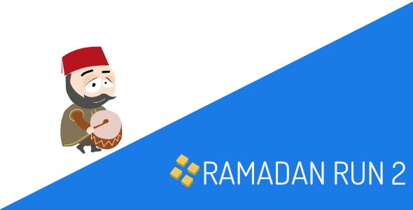 Ramadan Run 2 Android IOS Game Template