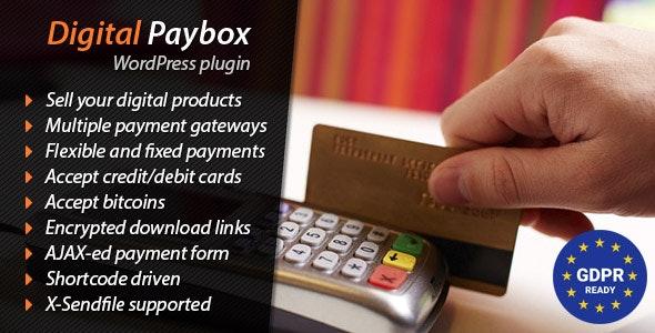 Digital Paybox - WordPress Plugin - CodeCanyon Item for Sale