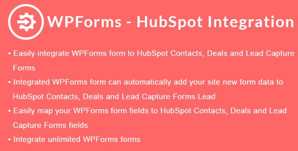 WPForms - HubSpot Integration - CodeCanyon Item for Sale