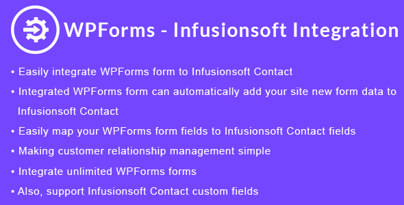 WPForms - Infusionsoft Integration | WPForms - Keap CRM Integration