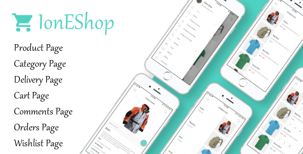 IonEshop - Ionic 3 Ecommerce Template - CodeCanyon Item for Sale