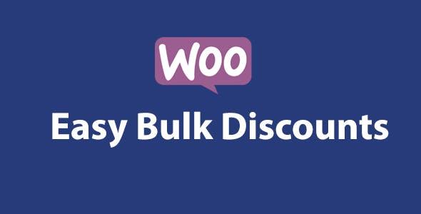 Woocommerce Easy Bulk Discounts