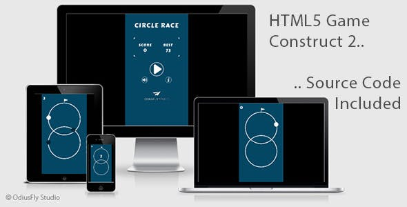 Circle Race - HTML5 Game (Construct 2)