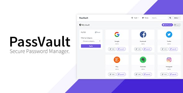 PassVault - Secure Password Manager