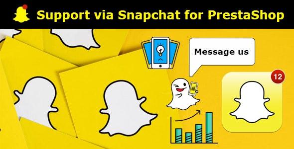 Support via Snapchat for PrestaShop. - CodeCanyon Item for Sale
