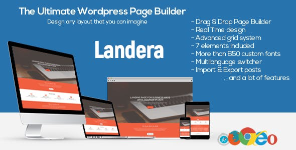 Landera - WordPress Page Builder