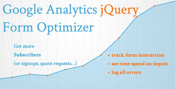 Google Analytics jQuery Form Optimizer
