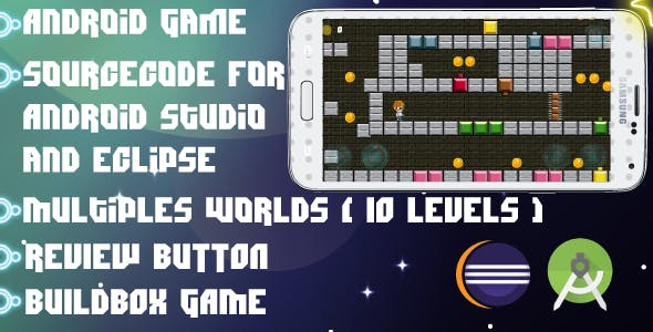Smart Boy : Android Game-multiple worlds-easy to reskin