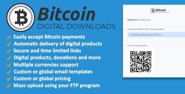 Bitcoin Digital Downloads and Terminal 2018