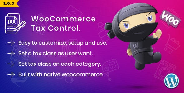 WooCommerce Tax Control - CodeCanyon Item for Sale