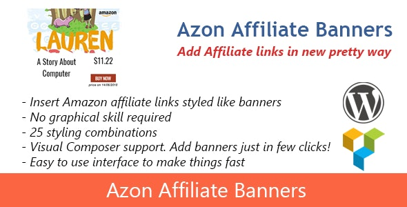 Azon Affiliate Banners - CodeCanyon Item for Sale
