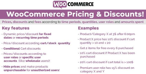 WooCommerce Pricing & Discounts! v13.7