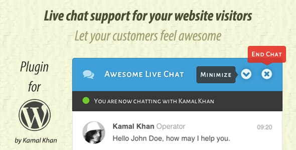 Awesome Live Chat - CodeCanyon Item for Sale