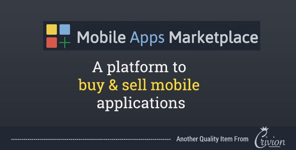 PHP Mobile Apps Marketplace Script - CodeCanyon Item for Sale