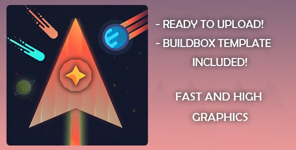 Meteor Madness  buildbox template ios and android