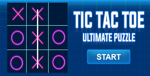 Tic Tac Toe Ultimate Puzzle + Admob + Android Studio