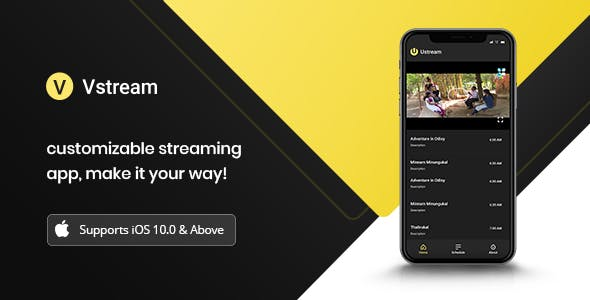 Vstream - iOS Video Streaming Application