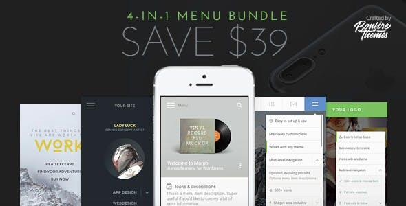 WordPress Mobile Menu Bundle