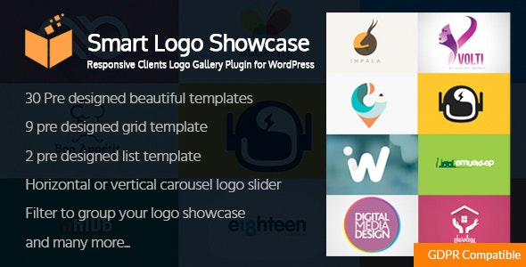 Smart Logo Showcase - Responsive Clients Logo Gallery Plugin for WordPress - CodeCanyon Item for Sale