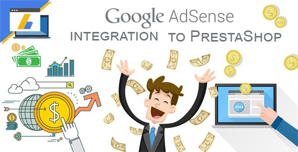 Google AdSense integration to PrestaShop.