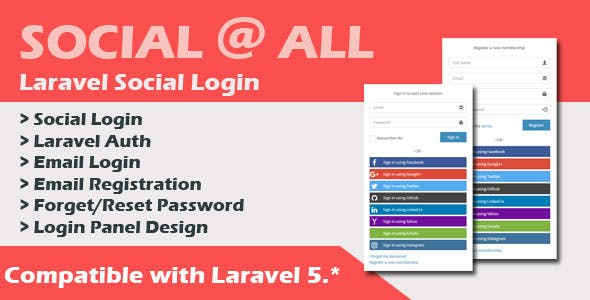 Social At All - CodeCanyon Item for Sale