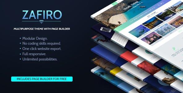 Zafiro Multipurpose Static Page Builder