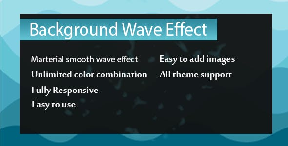 Visual Composer - Background Wave Effects - CodeCanyon Item for Sale