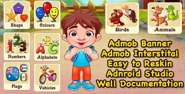 Pre School Learning Game + Best Education Game + Admob + Ready For Publish