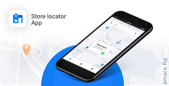 Store Locator Android App | Locate Store, Branches, ATM, Showrooms and many more - CodeCanyon Item for Sale