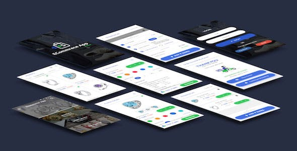E-Commerce UI Kit (Android + iOS)