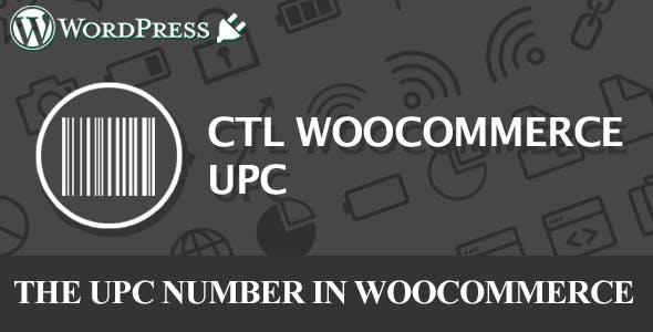 CTL Woocommerce UPC