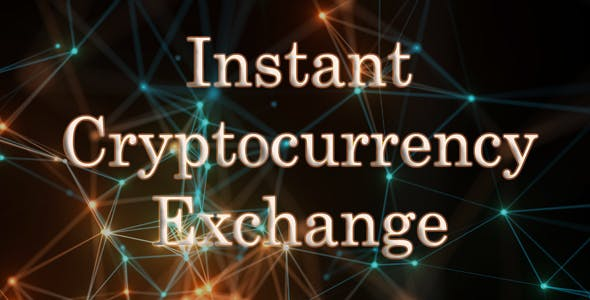 Instant Crypto Exchange | WordPress Plugin