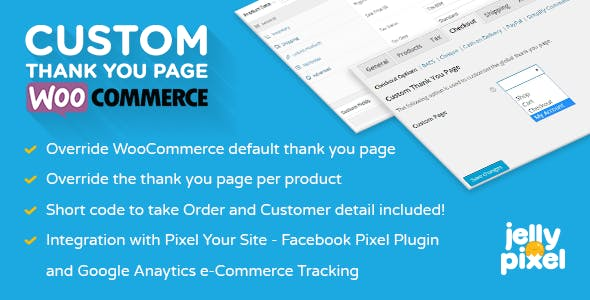 Custom Thank You Page for WooCommerce