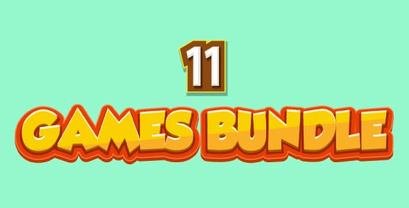 Bundle N°2 : 11 HTML5 Games - Web & Mobile + AdMob (CAPX, C3p and HTML5) & MORE Than 85% OFF - CodeCanyon Item for Sale