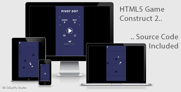 Pivot Dot - HTML5 Game (Construct 2)