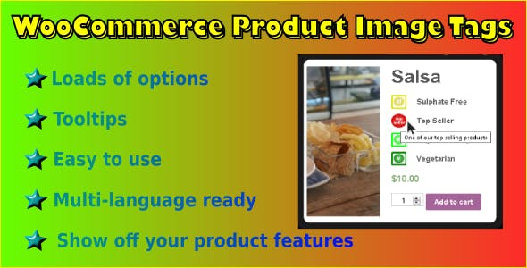 WooCommerce Product Image Tags