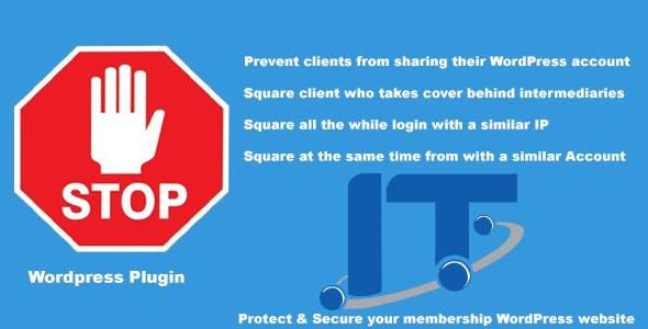 Allow Single Membership  Login  - Protect Your Membership