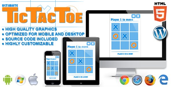 Ultimate Tic Tac Toe - HTML5 Game