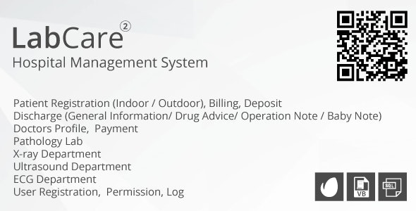 LabCare - Hospital Management System (Billing, Pathology