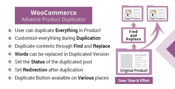 WooCommerce Advanced Product Duplicator