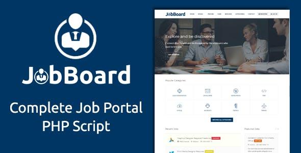 Job Board - Complete PHP Job Board Platform
