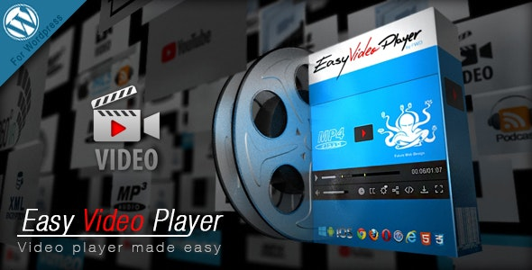 Easy Video Player Wordpress Plugin - CodeCanyon Item for Sale
