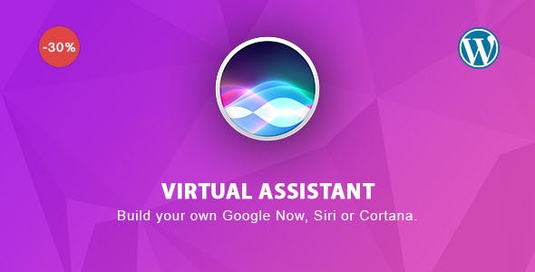Virtual Assistant for Wordpress - build your own Google Now, Siri or Cortana.