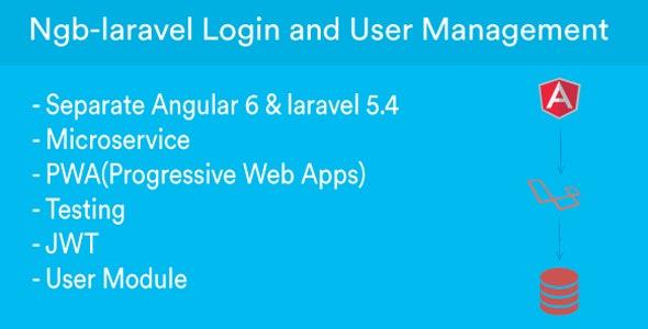 ngb-laravel - CRUD Angular & Laravel REST API on JWT + Angular6 + Bootstrap - CodeCanyon Item for Sale