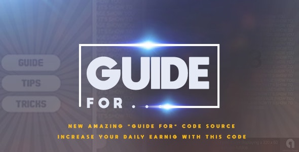 Guide For / Tips / Tricks Code New! for Android Studio by ABP24