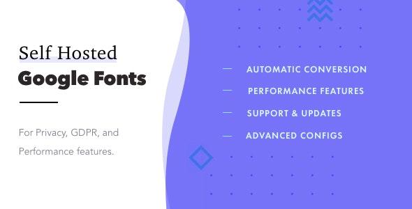 Self-Hosted Google Fonts Pro