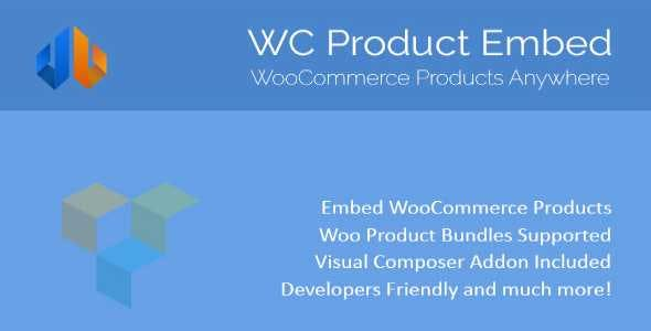 WooCommerce Product Embed